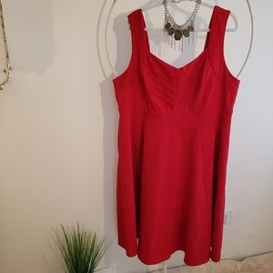 TORRID red midi dress size 24